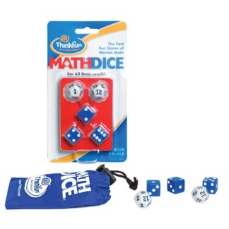 Math Dice Fast Fun Educational Game. Standard & Junior Versions - Standard