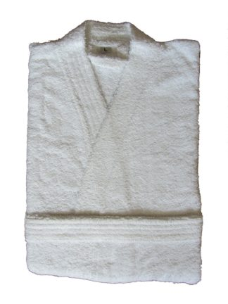 Unisex Cotton Terry Towelling Bathrobe Dressing Gown
