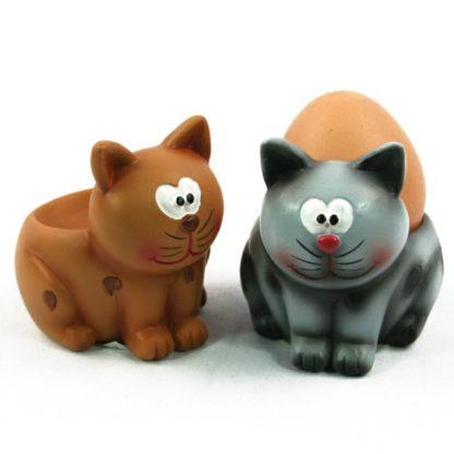Animal Eggcup For Boiled Egg Farmyard / Garden / Pet Dog / Cat
