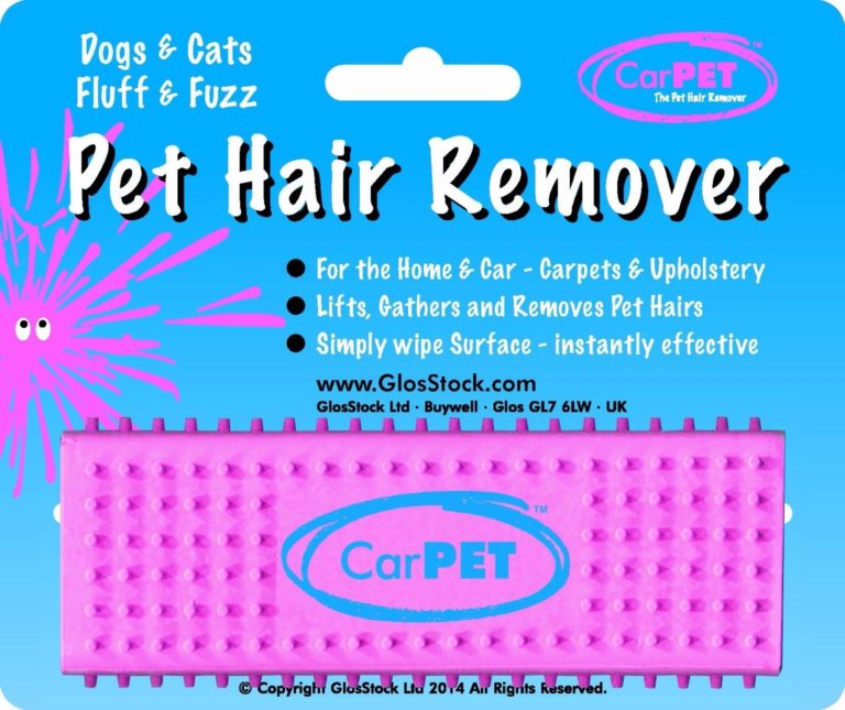 Car-Pet Pet Hair Remover Removes Hairs and Fluff from Carpets and Upholstery