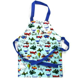 Child's Kids Cotton PVC Waterproof Apron Baking Cooking Painting Water