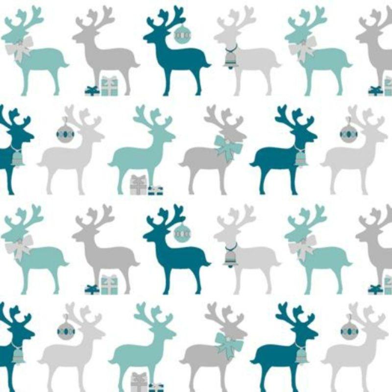 Christmas Napkins Festive Patterned 3-Ply Paper Serviette