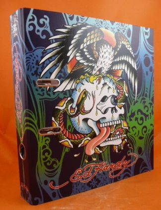 "Ed Hardy Tattoo Artist 2"" Lever Arch File Ring Binder Folder Various Designs"