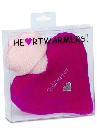HeartWarmers Heart Hot Water Bottle Knitted Cover