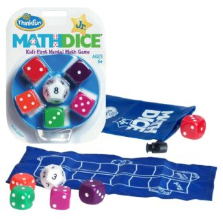 Math Dice Fast Fun Educational Game. Standard & Junior Versions