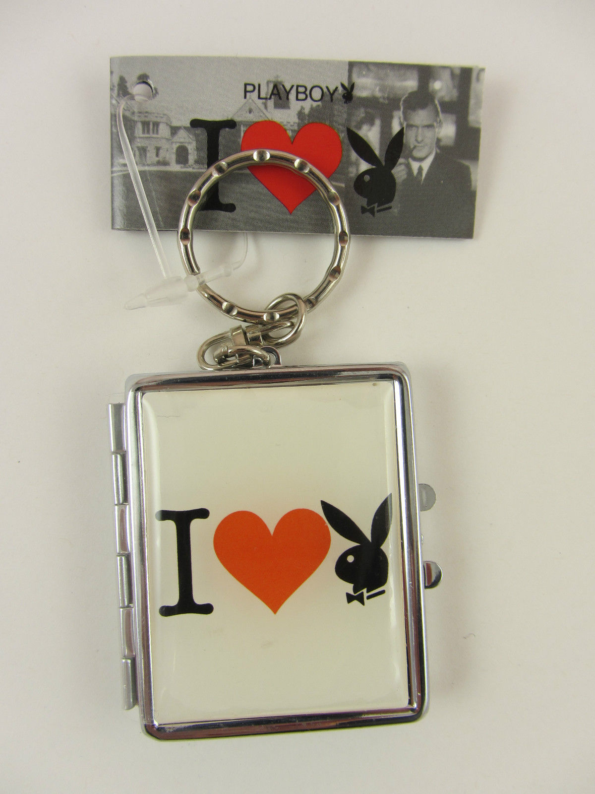 Playboy Bunny Keychain Keyring