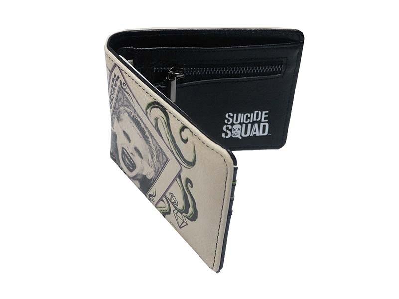 9b9d798fd7d DC Comics Suicide Squad Men's Wallet – Deck of Cards – Simply NikNaks
