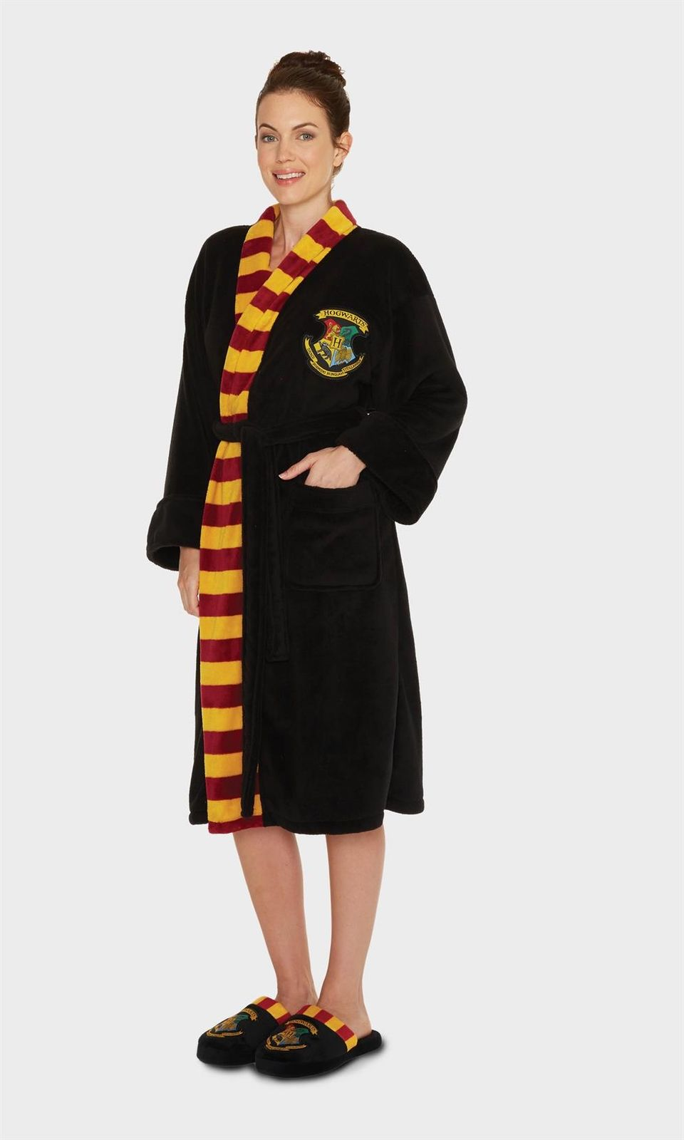 Ladies Harry Potter Hogwarts Dressing Gown with Scarf Detail ...