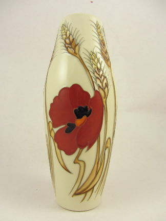Moorcroft Harvest Poppy Vase 1stbest Quality Simply Niknaks