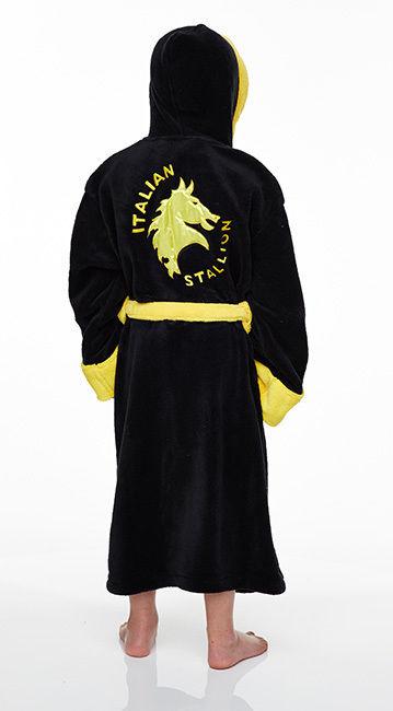 Rocky Balboa Dressing gown Mens Adult bathrobe bath robe Italian stallion