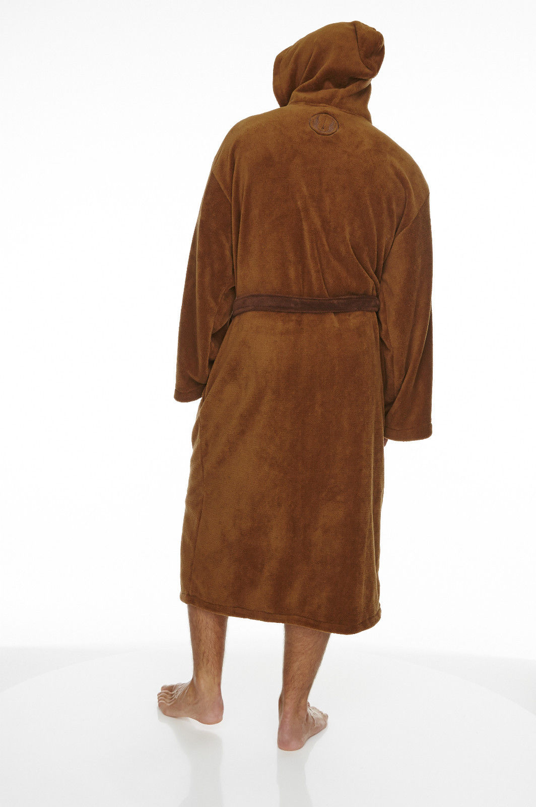 Star Wars Jedi Outfit Hooded Fleece Dressing Gown Bathrobe – Simply ...