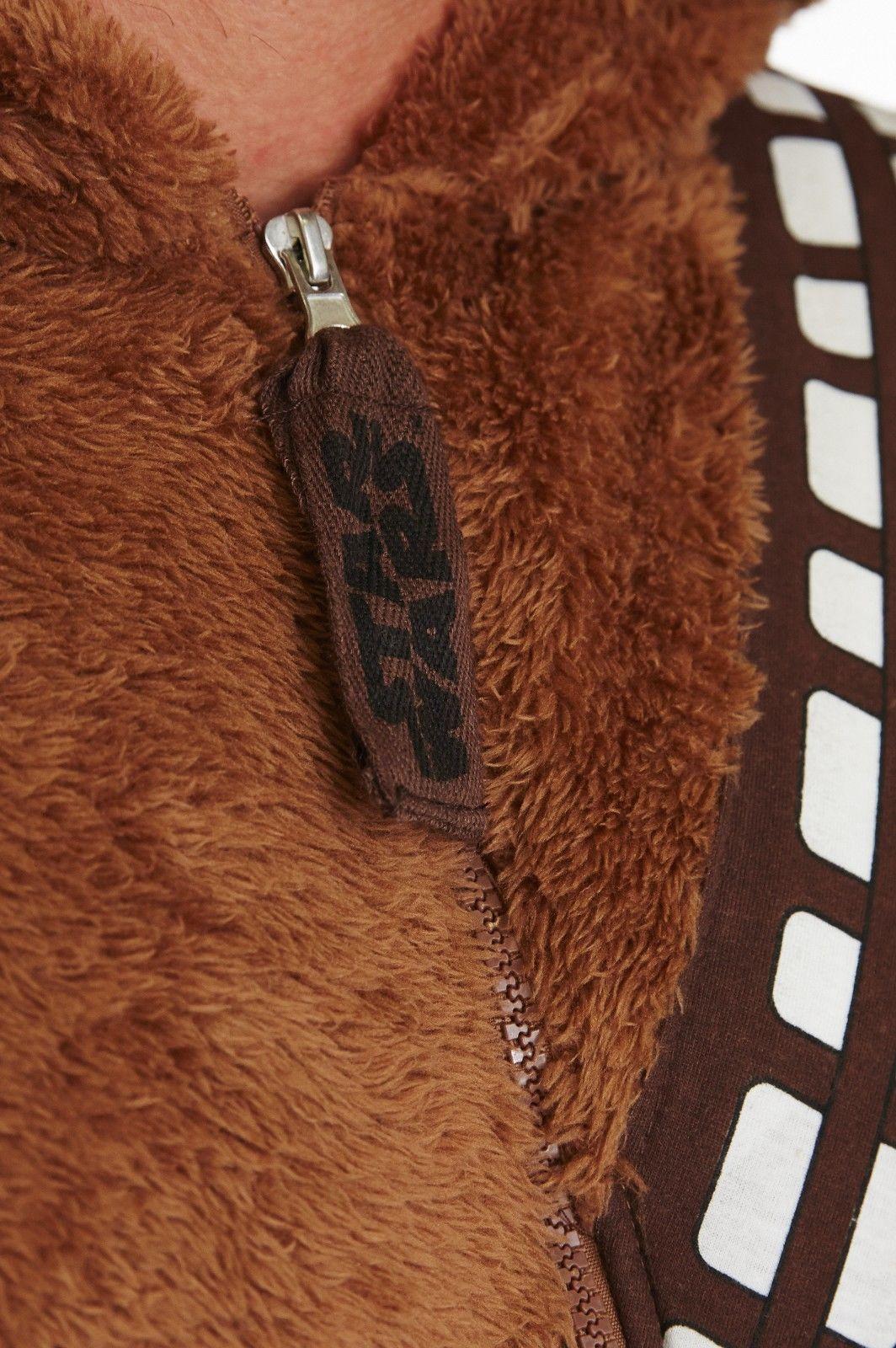 Star Wars Chewbacca Onesie Jumpsuit Costume (Adult) ... & Star Wars Chewbacca Onesie Jumpsuit Costume (Adult) u2013 Simply NikNaks